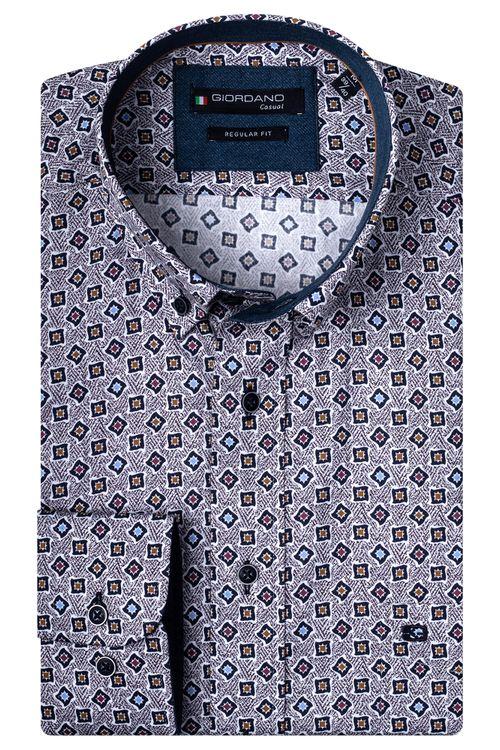 Giordano Overhemd LM Square 207016