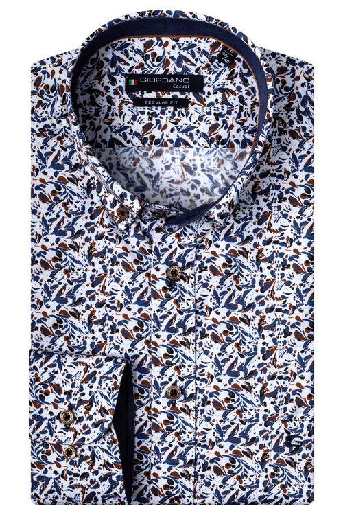 Giordano Overhemd LM Splashes 207017
