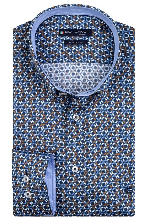 Giordano Overhemd LM Circle 207019