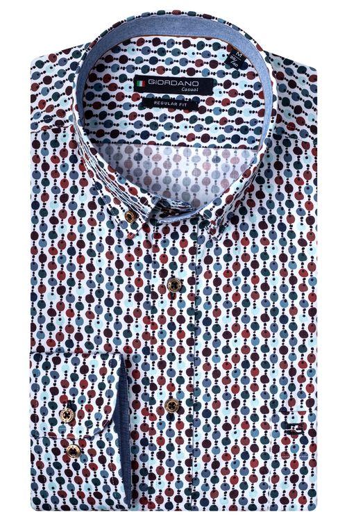 Giordano Overhemd LM Beaded 207021