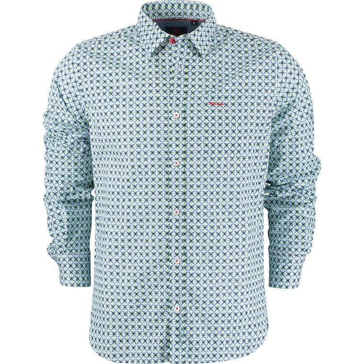N.Z.A. Overhemd Mc Kay 21AN543 - 444