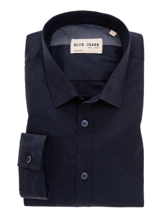 Blue Crane Overhemd ML5 3100626