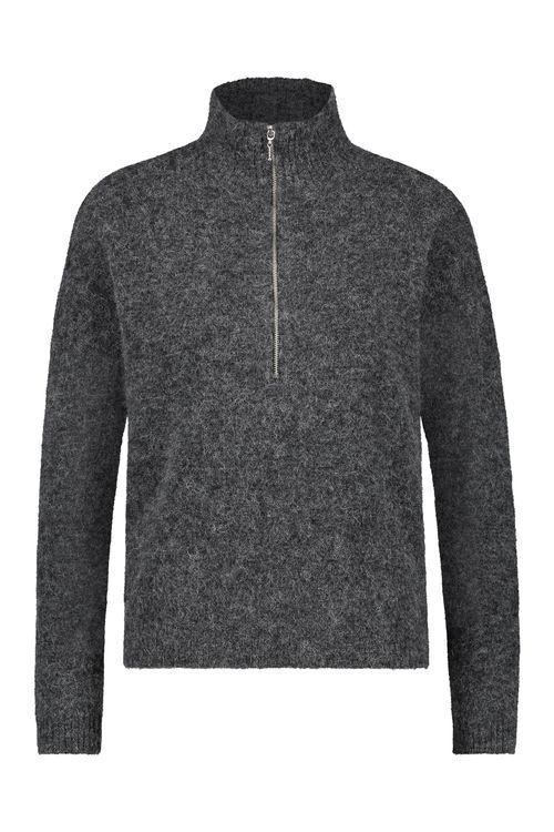 Simple Sweater Zipped Barn