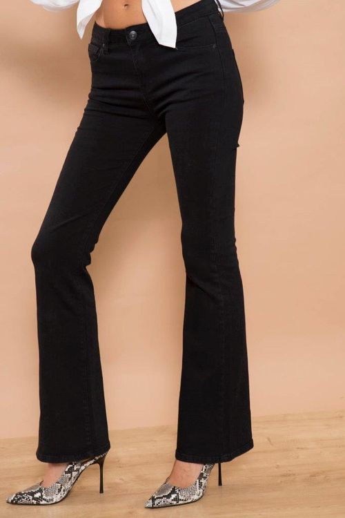 Bianco Jeans Flare Cava 220502