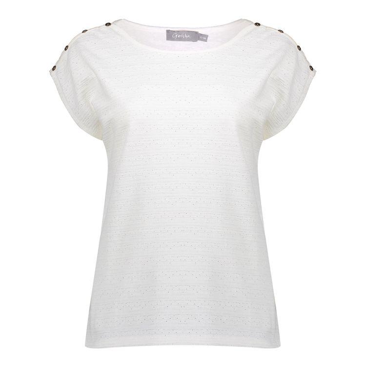 Geisha T-Shirt KM 12103-24