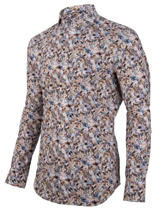 Cavallaro Napoli Overhemd LM Giardino