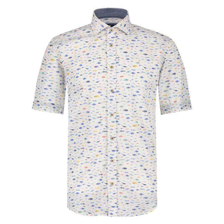 Marco Manzini Overhemd KM MMZ21107CR51
