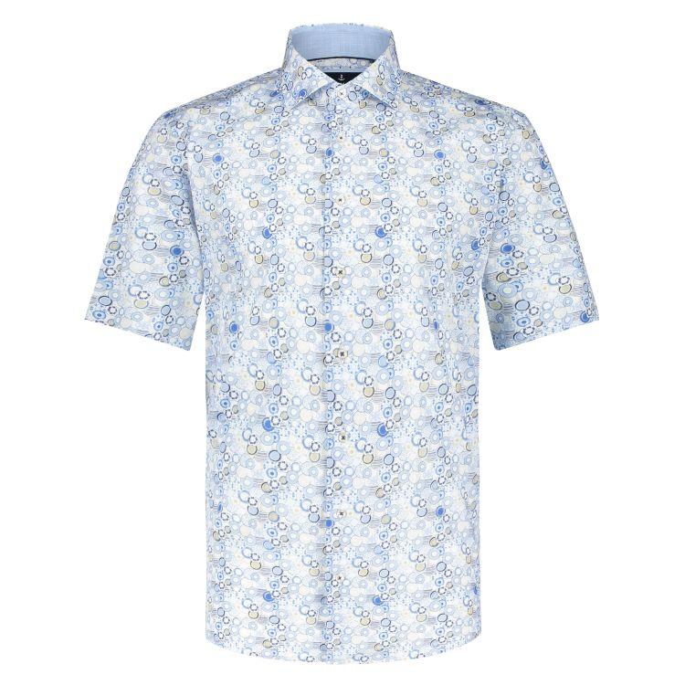 Marco Manzini Overhemd KM MMZ21107LE41