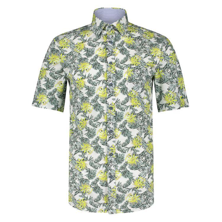 Marco Manzini Overhemd KM MMZ21107WO18