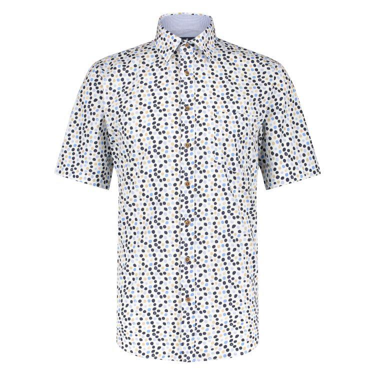 Marco Manzini Overhemd KM MMZ21107WO21