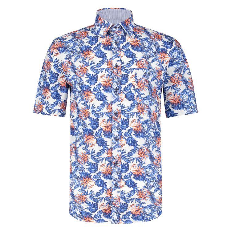 Marco Manzini Overhemd KM MMZ21107WO28