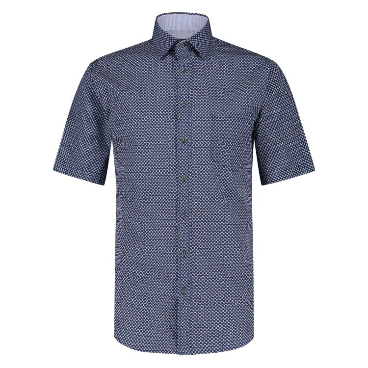 Marco Manzini Overhemd KM MMZ21107WO34