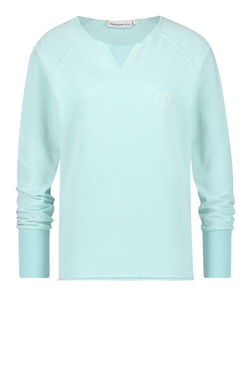 Penn & Ink Sweater print S20F765LTD