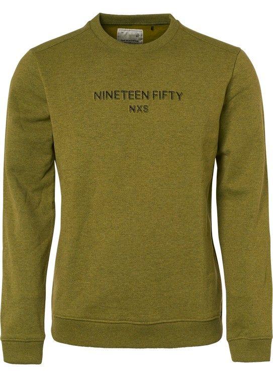 No Excess Sweater Melange Fleece