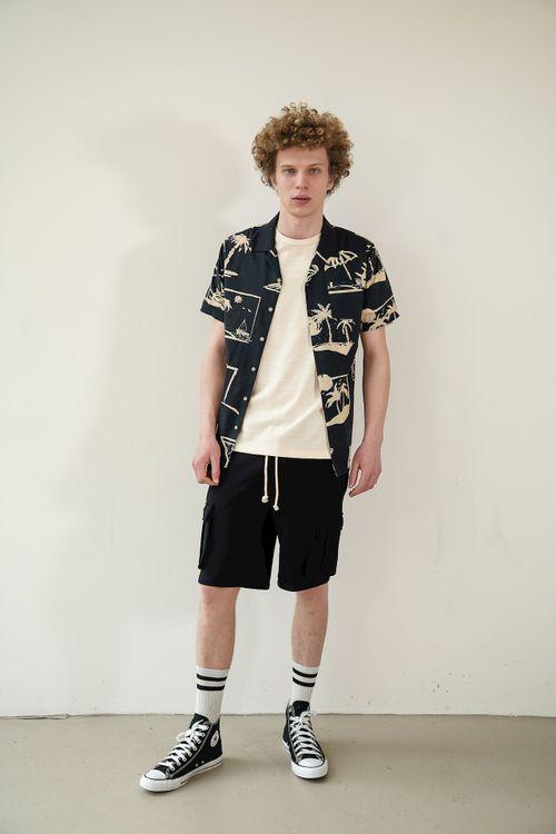 Kultivate Overhemd KM Summer