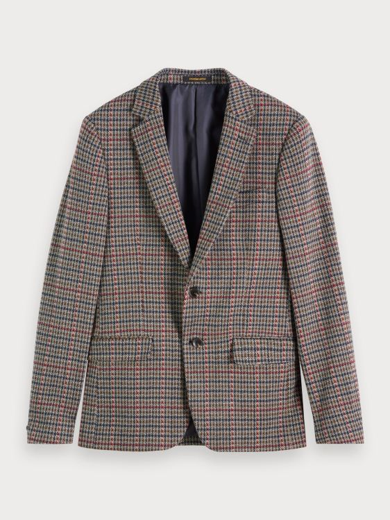 Scotch & Soda Blazer Yarn-dyed Check