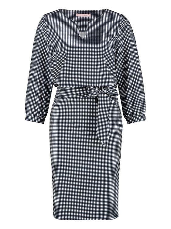 Studio Anneloes Flex small check dress
