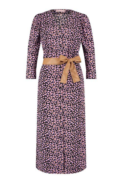 Studio Anneloes Cintia 3/4 double dot dress