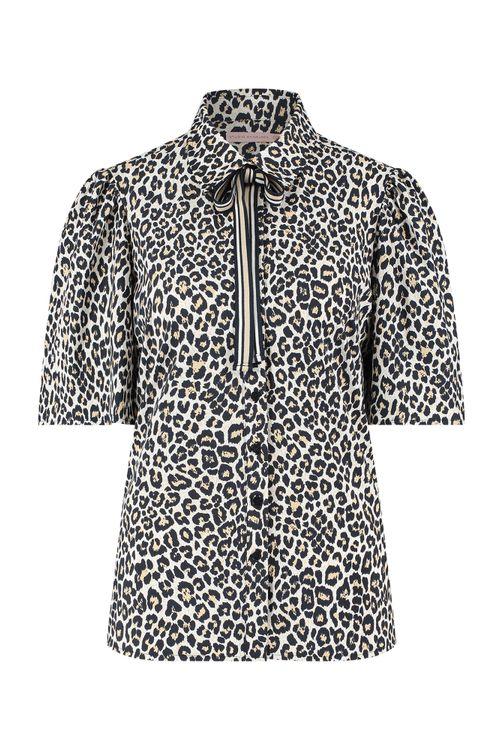 Studio Anneloes Nomi leopard blouse