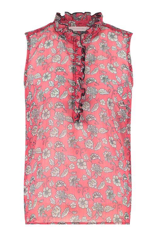 Studio Anneloes Lyra SL crepe blouse