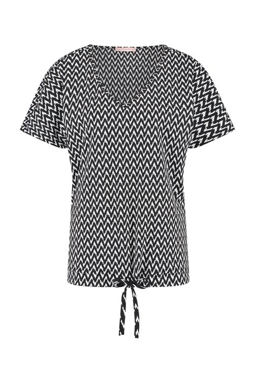 Studio Anneloes Made small zig zag shirt