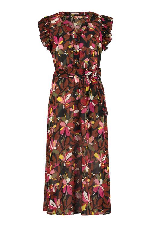 Studio Anneloes Saar crepe flower dress