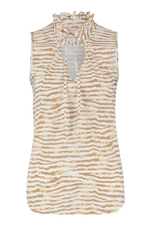 Studio Anneloes Riva tie dye stripe blouse
