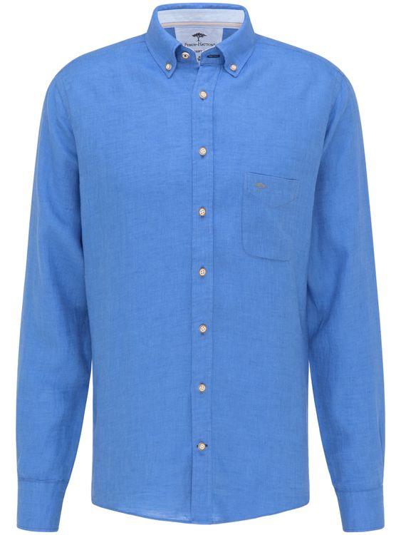 FYNCH-HATTON Overhemd 1121 6030 - 6036 Ultramarin