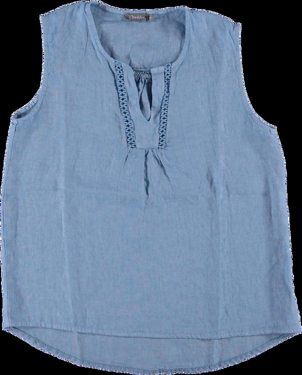 Geisha T-Shirt KM 13460-70 linen