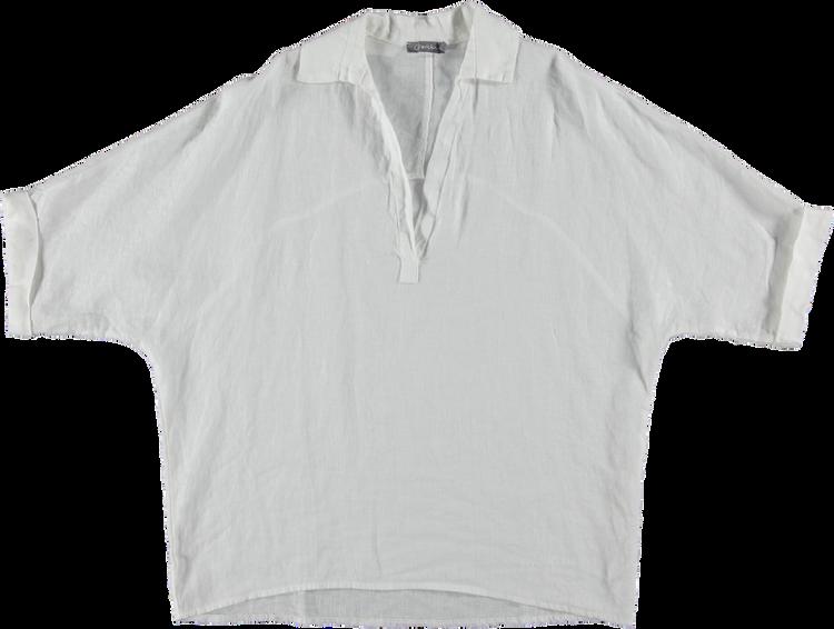 Geisha T-Shirt LM 13462-70 linen
