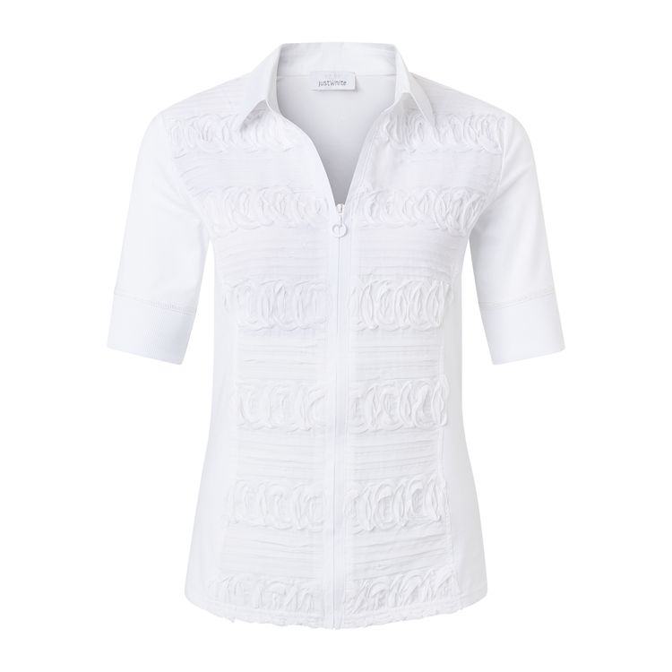 Just White Blouse LM 43840