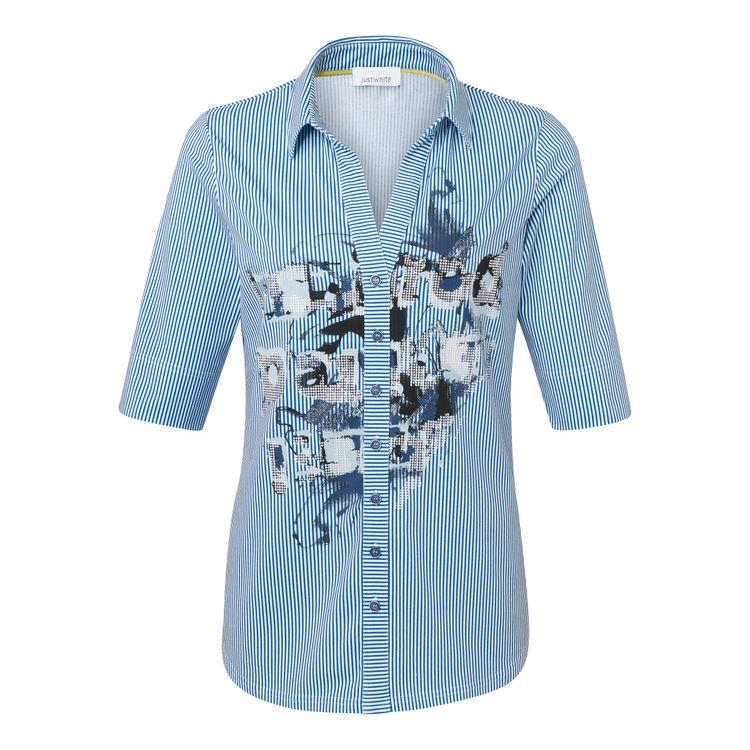 Just White T-Shirt KM 43827