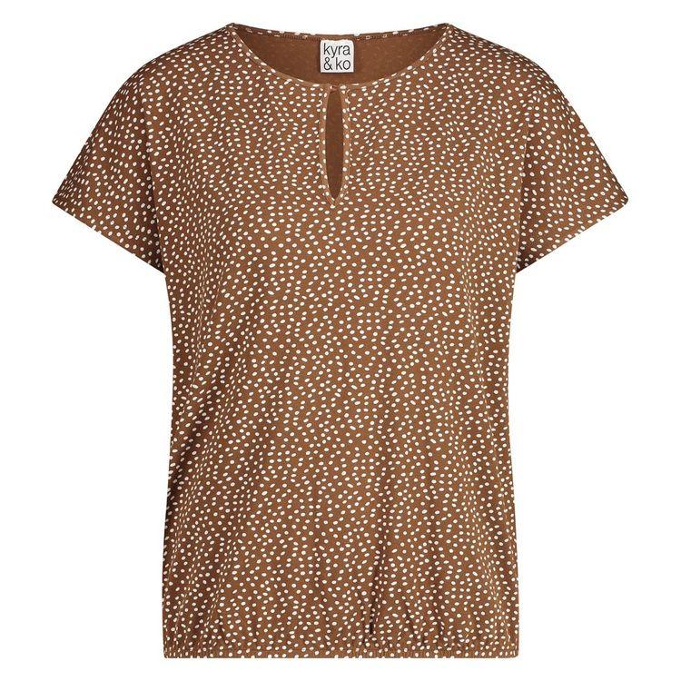 Kyra & Ko T-Shirt KM lumi dot-s21